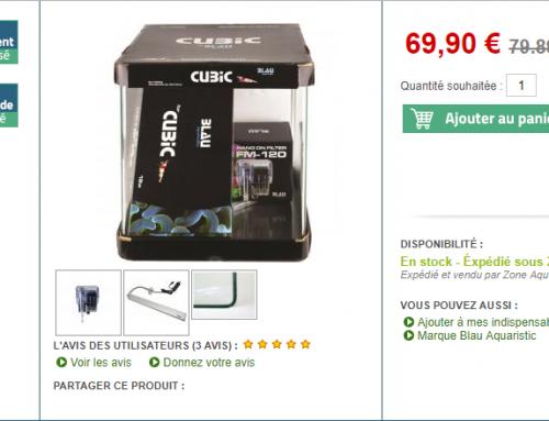6€ pour 50€ d'achat chez ZONE-AQUA